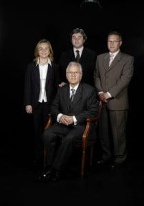 Dr. Miquel Duran Bellido, Dr. Jordi Duran Company, Maria Duran Company i Antoni Valverde Hernández
