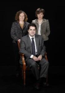 Sr. Anastasi Fonollà Ricart i Sres. Margarita Ayats i M. Rosa Blasco