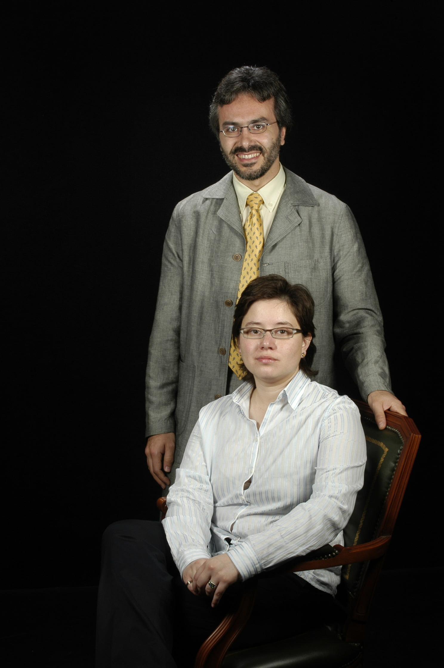 Sr. Magí Lluch i Ariet, Sra.Mariola Mier Pérez