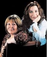 Sras. M. Cinta Onate Díaz i Imma Lamela