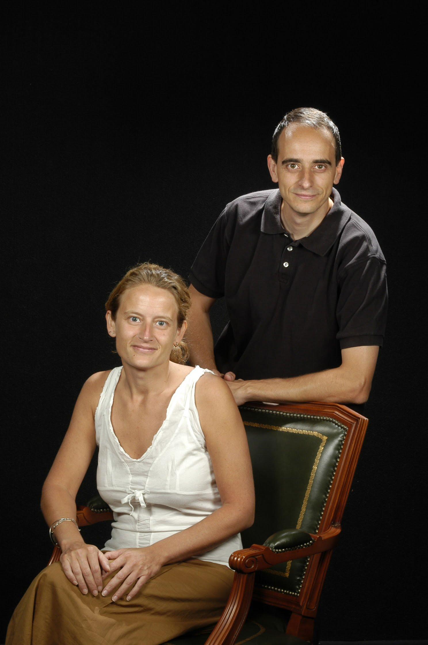 Drs. Francesc Posas Garriga i Eulàlia de Nadal Clanchet