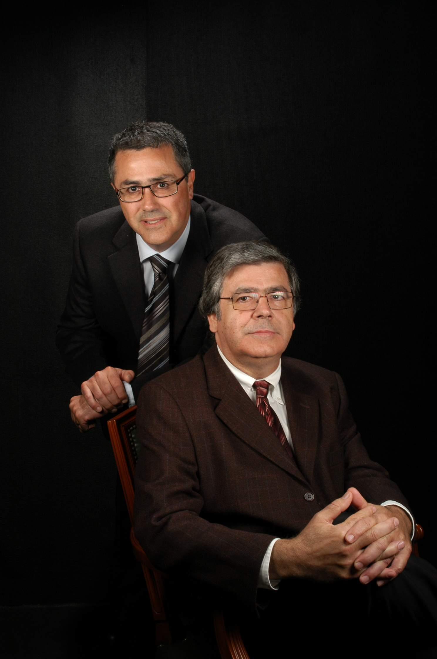 Srs. Josep Maria i Francesc Xavier Pujol i Pou