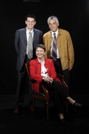 Dra. M. Claustre Rafart Queralt, Sr. Joan Merino, Sr. Joan Serra Caball