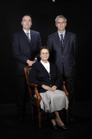 Sor Maria Luisa Cuadrón Serna, Dr. Joan Orrit Clotet, Dr. Lluís San Molina