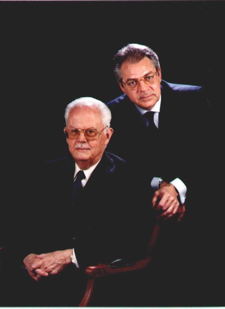 Sr. Pedro Clarós Blanch i Sr. Andrés Clarós Domènech