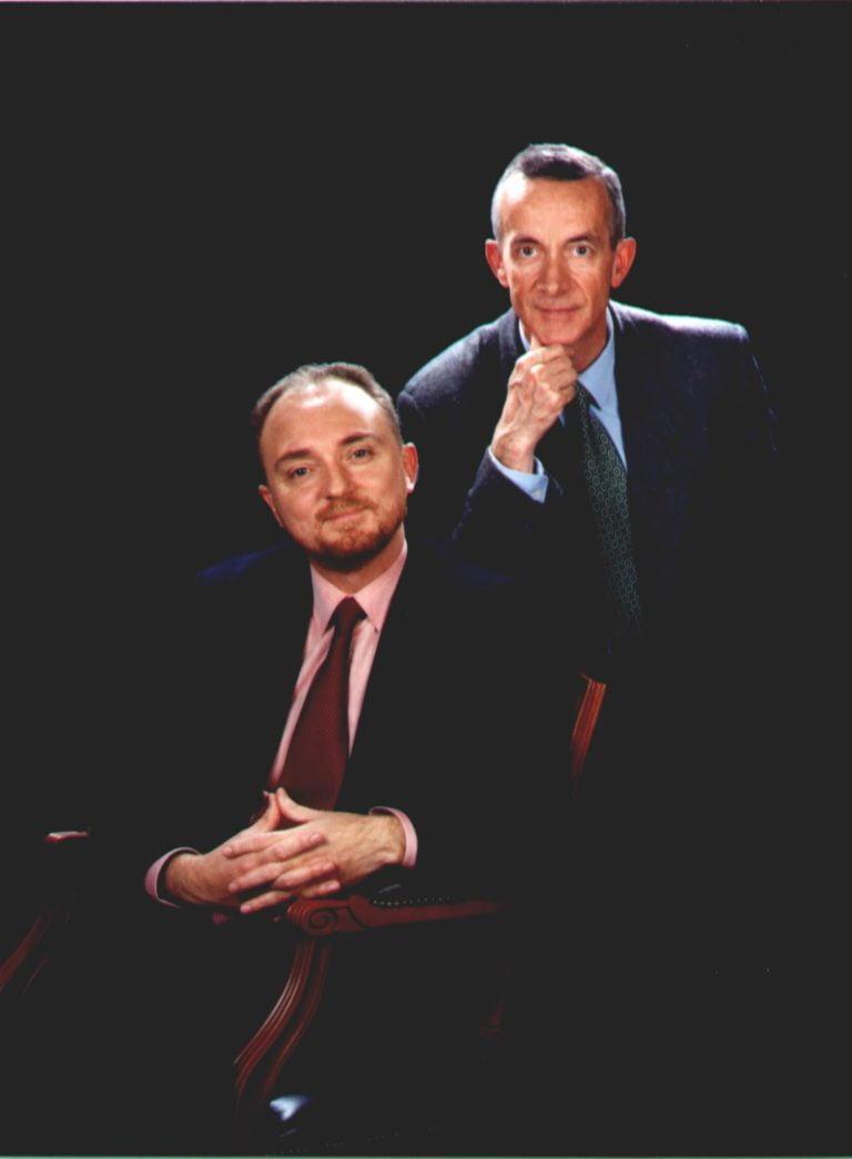Srs. Ignasi de Delás de Ugarte i Antoni Salamero