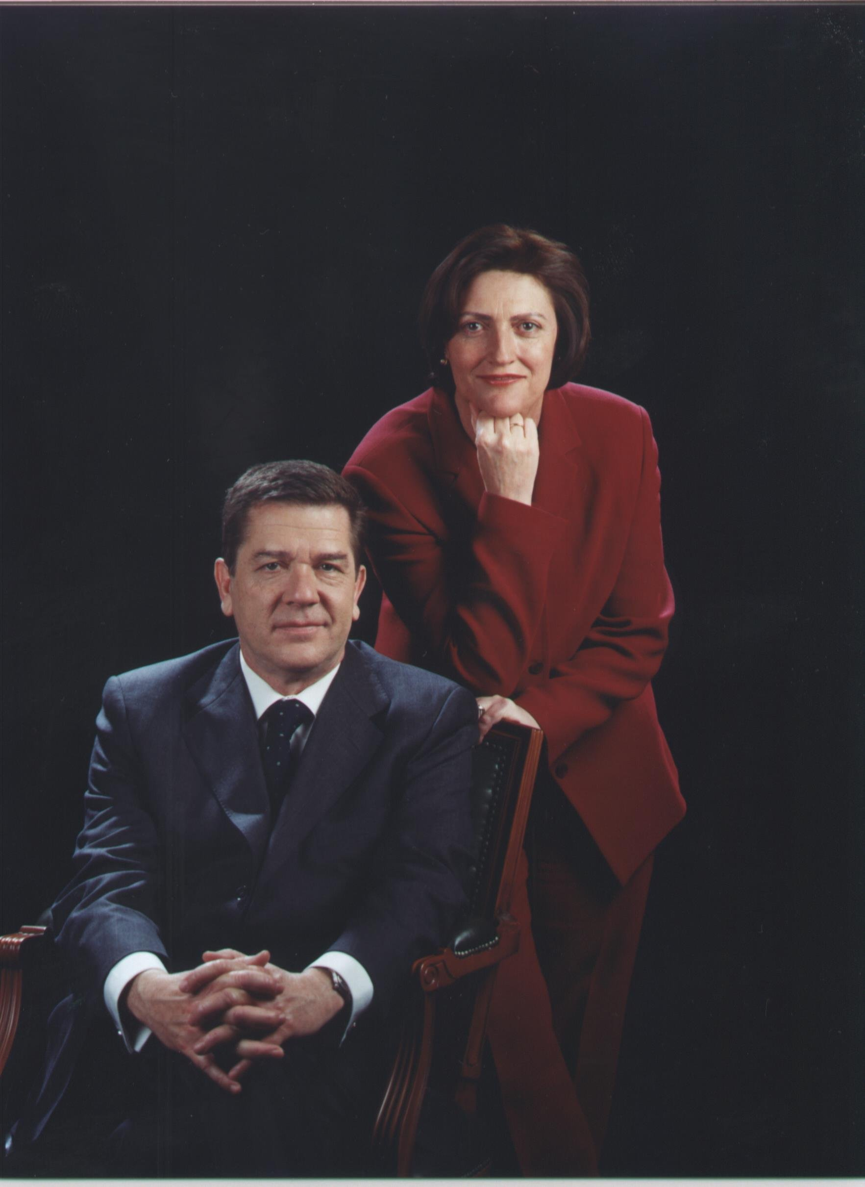 Sr. Rafael de Gispert i Sra. Maria Serrat Martín