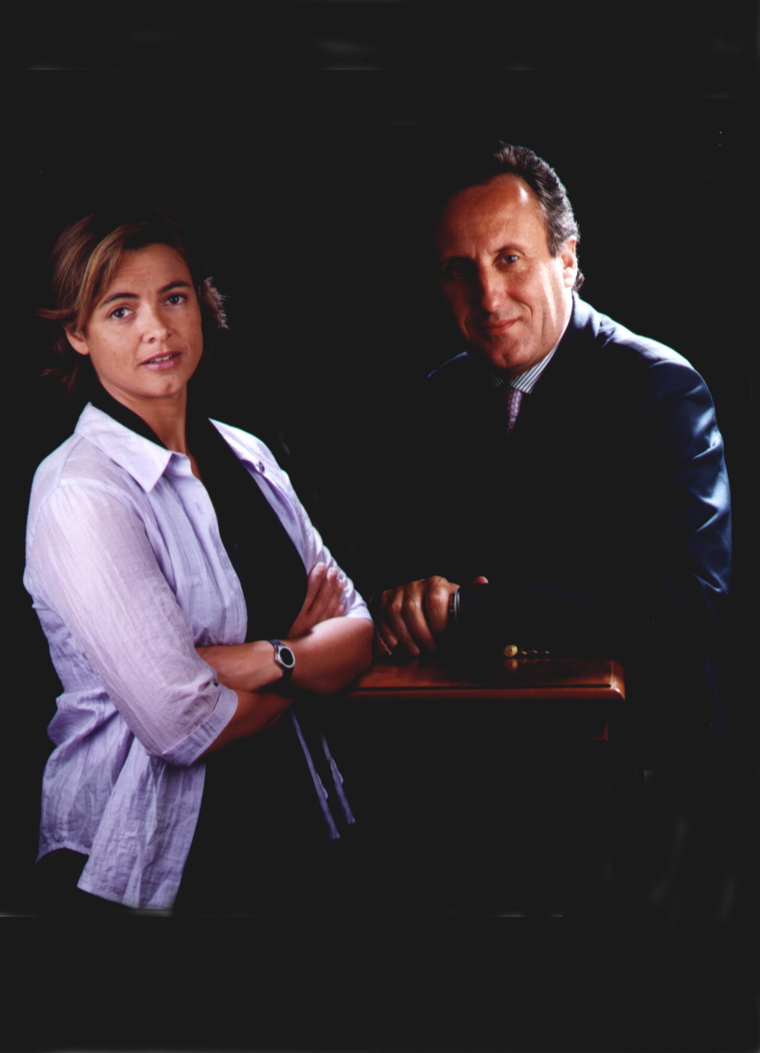 Sra. Olga Serra Ferrer i Sr. Joan Mas Brillas