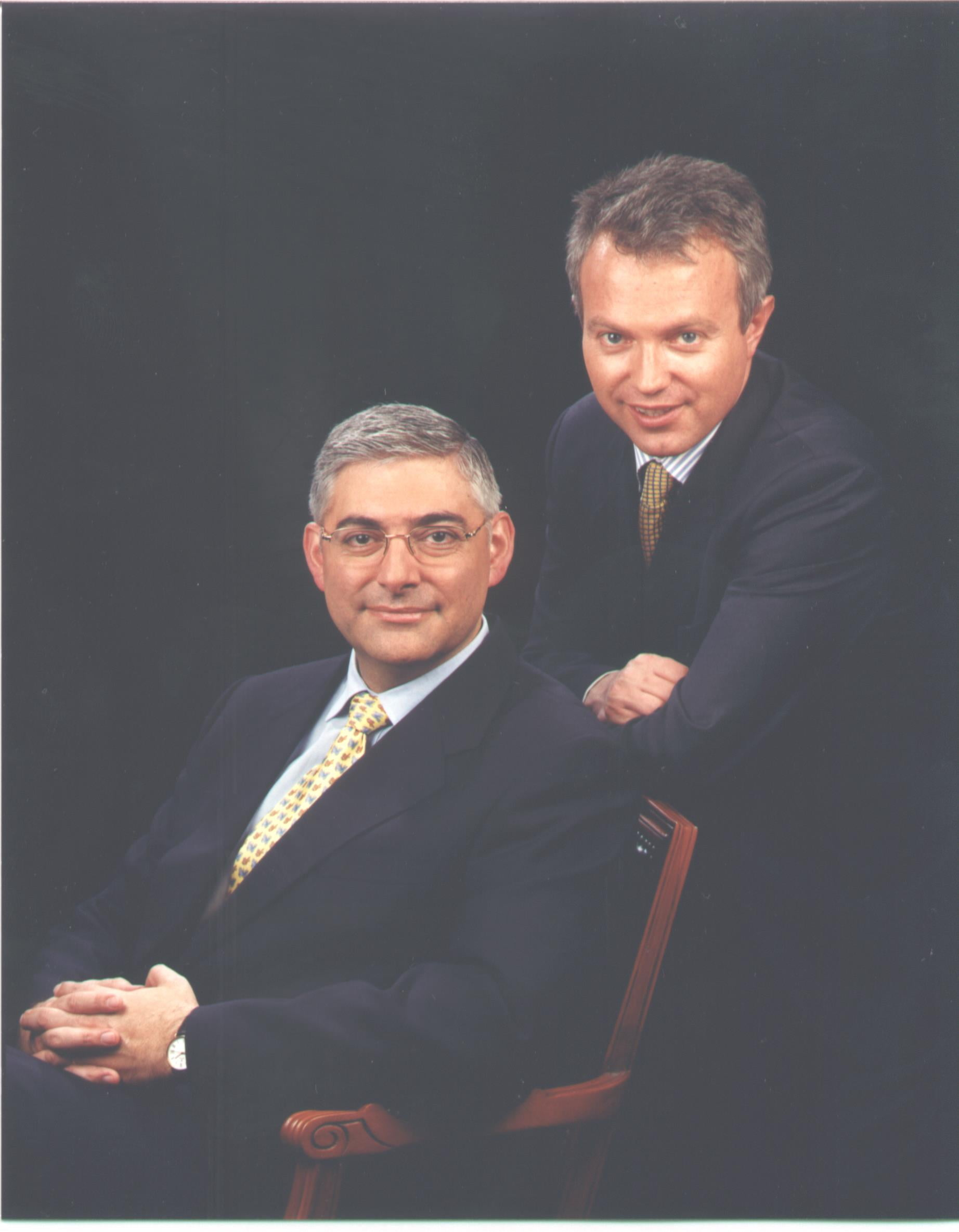 Srs. Giuseppe Gamucci i César Bardají