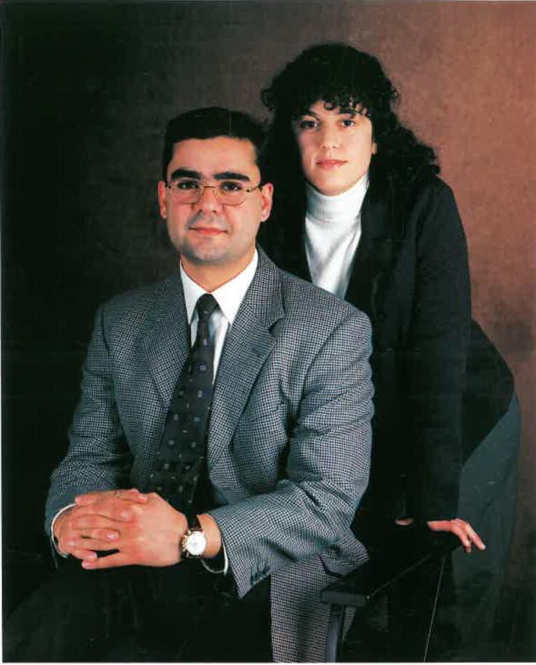 Jordi Castells i Eva Cisneros