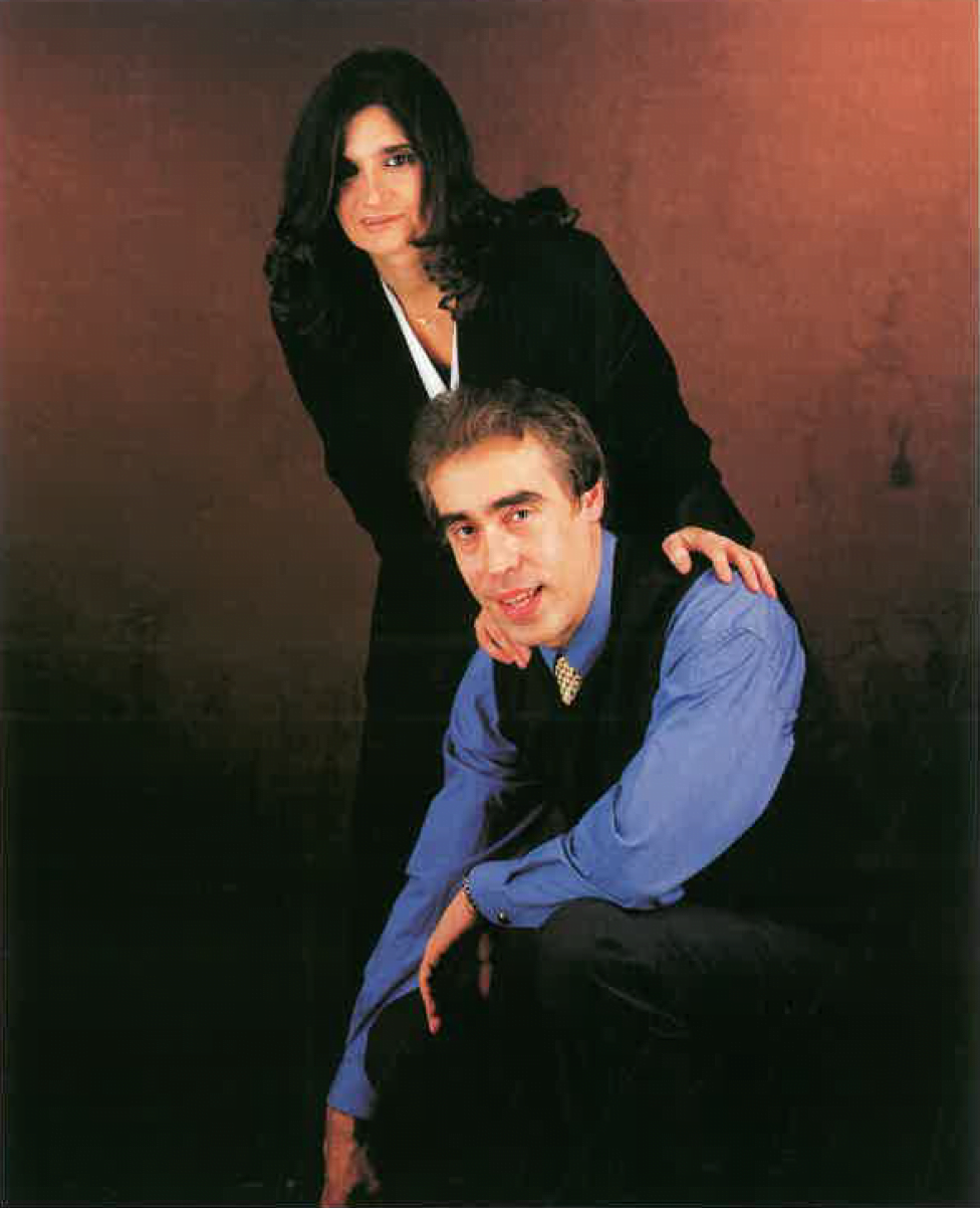 Conxita Dempere i Juan José Corres