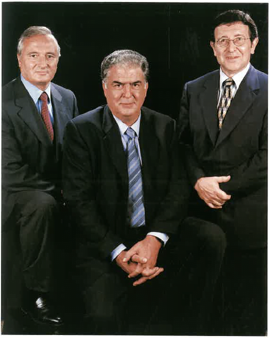 Miquel Banús, Lluís Besas i Antoni Clavell