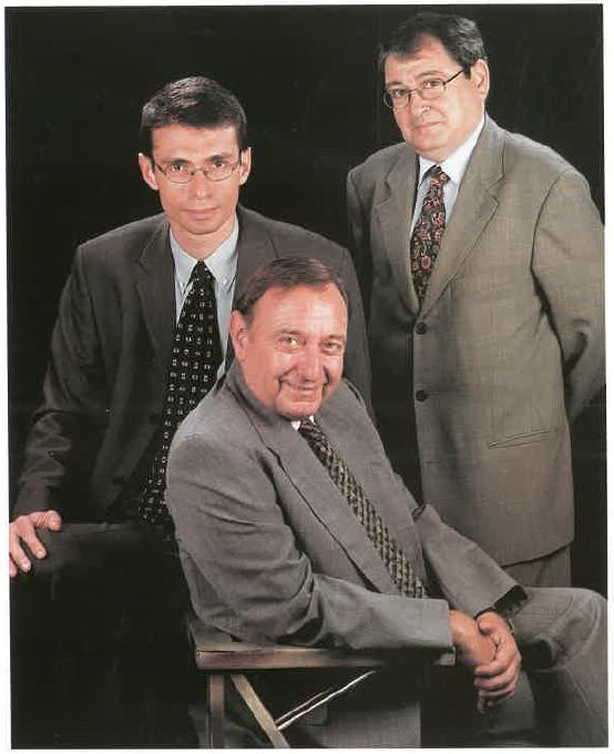 Pere Cuch Castellví, Pere Cuch Arguimbau i Enric Bonmatí