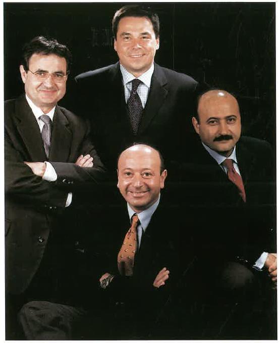 Rafel Moya, José Amate, Joan Tarrats i Joaquim Gil