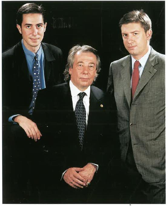 Carlos Berruezo del Río, Carlos Jesús i Jordi Isaac Berruezo Gutiérrez