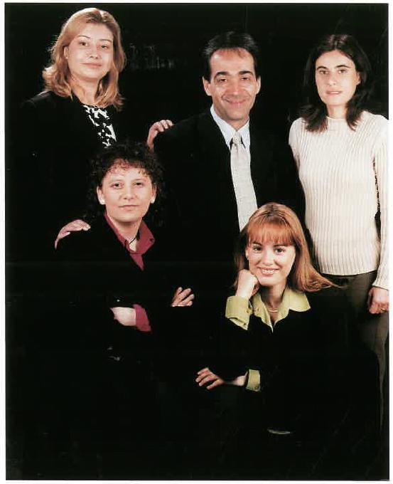Mario Andrés, Raquel Alba, Rosana Almela, Núria Recasens, i Noèlia Àvila