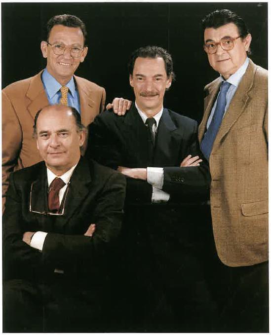 Enric, Francesc Xavier, Josep Maria i Joan Manuel Llaudet