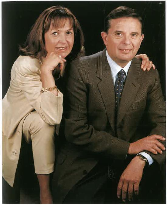 Maria Rosa Pedescoll i Lluís Pallé
