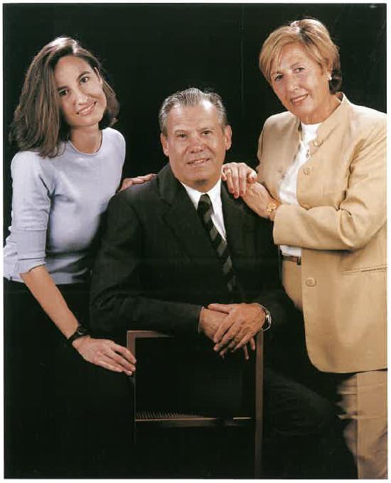 Montse Romero Font, Josep Maria Romero Terricabras i Ernestina Font Nuri
