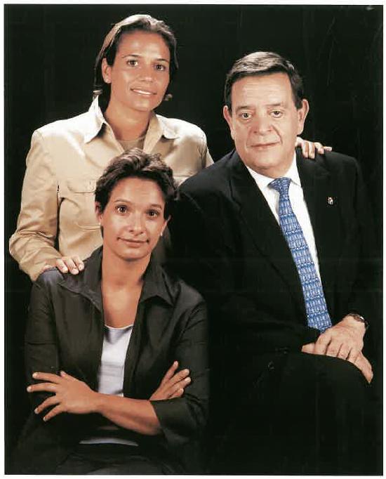 Natàlia i Helena Martra Mercadé i Antoni Martra Solé