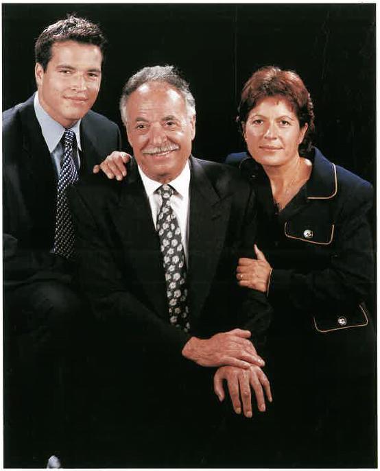 Armand Tarragó Cruet, Geroni Cruet Sánchez i Teresa Cruet Manzanares
