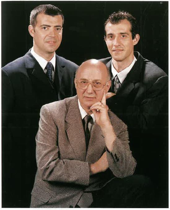 Albert Galan Llongueras, Jaume Galan Pujol i Jordi Galan Llongueras