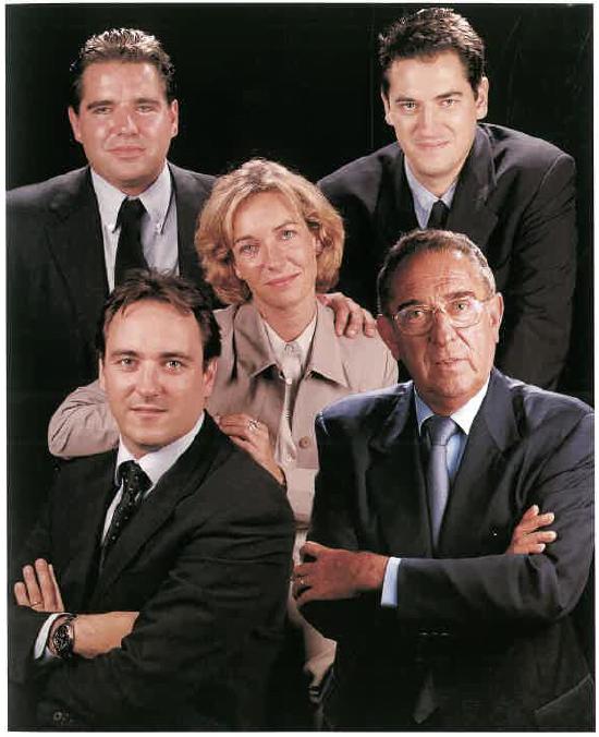 Àlex, Xavier, Josep M. i Rosa M. Lleal Tost i Josep Lleal Riembau