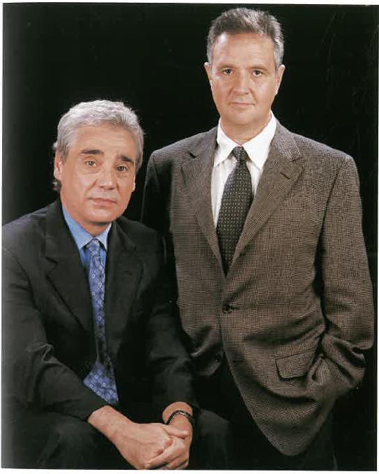 Vicenç Mas i Josep Pont