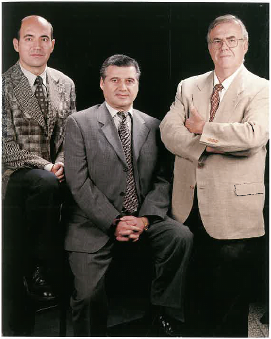Miguel López Llamas, Josu Balparda i Rafael Prat