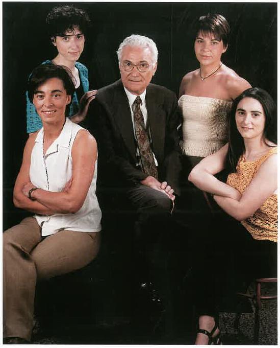 Francesc Sonsona Lalmolda i Montse, Maribel, Marta i Pilar Sonsona Torrent