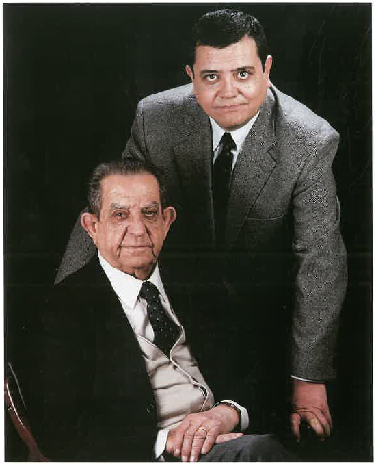 Ramon Casanova Pageo i Joan Ramon Casanova Turró