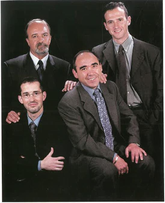 Jordi Cruz, Tomàs Tomey, Miquel Velasco i Pere Soler
