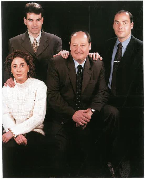 Joan Lluís Gimeno Burch, Meritxell, Àlex i Joan Josep Gimeno Codina