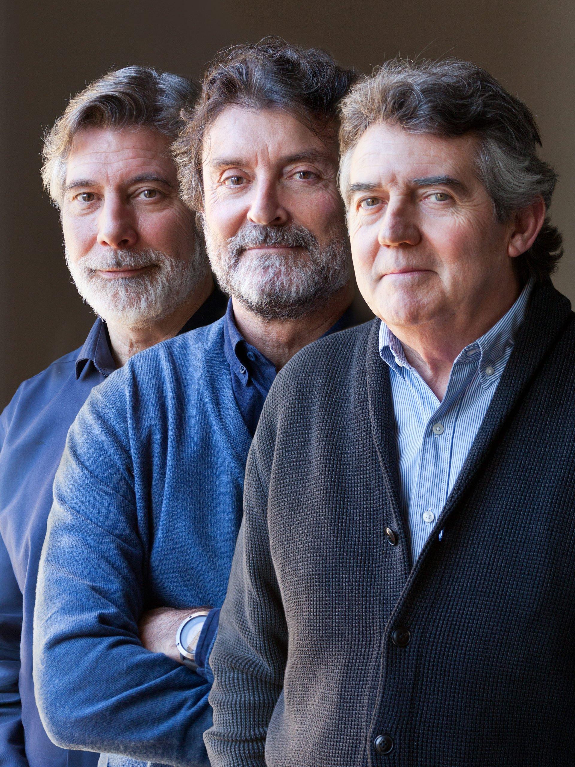 Alfons Canela, Javier Comella, Oriol Ademà
