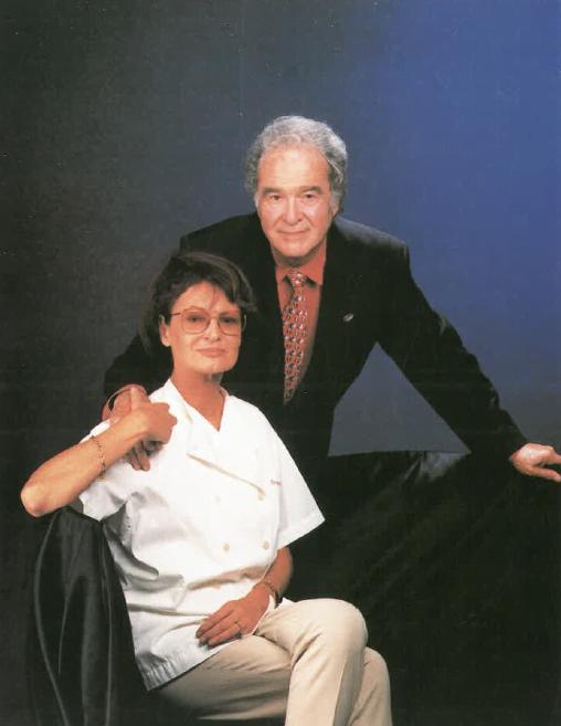 Srs. Renata Dabbert i Miquel Adrià