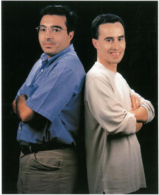 Srs. Rafael Herrera i Francesc X. Oller