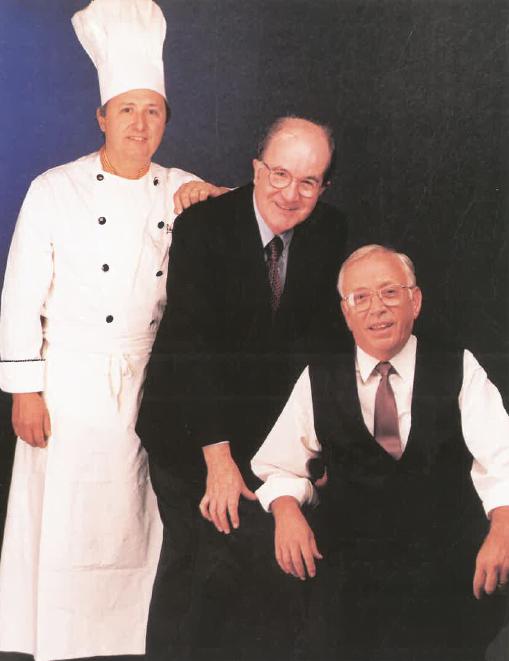 Srs. Francesc Bañeras, Josep Pont i Francesc Jordà