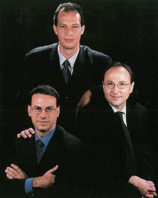 Srs. Eduard Beltran, Xavier Camps i Salvador Monill