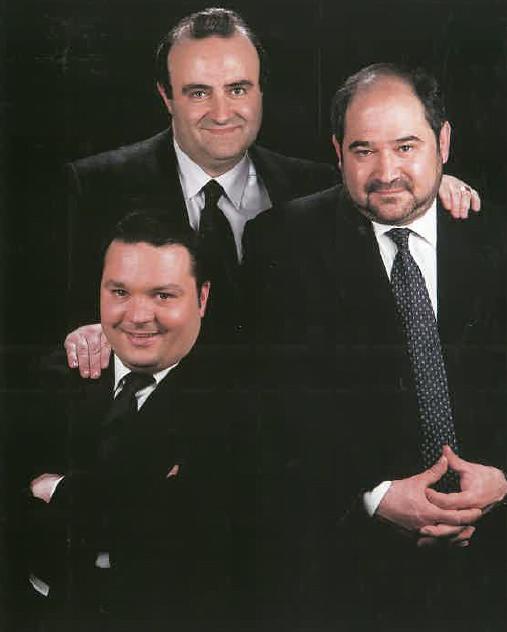 Srs. Esteve Canals, Jordi Sanglas i Jordi Serracant