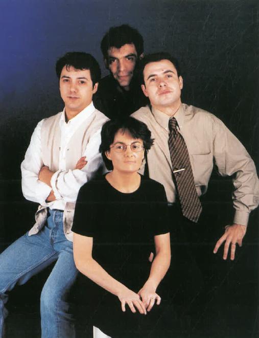 Srs. Miguel Velasco, Thaïs Bufill, Vicente Espinoso i Armando Aso