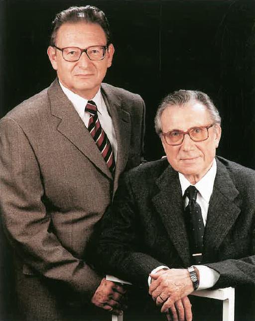 Srs. Manuel Pastells i Rafael Aragonés