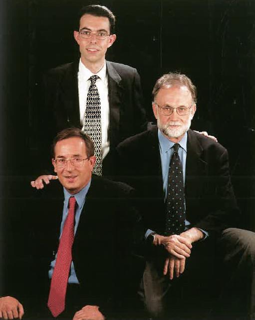 Srs. Francesc Olmo, Francesc Bellavista i Joan Lliteras