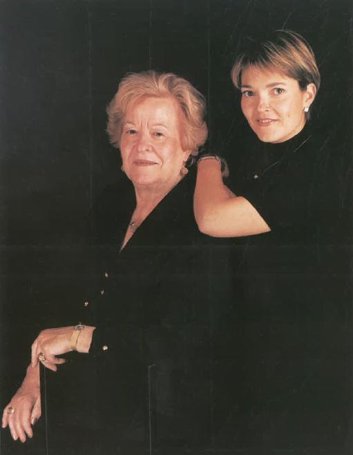 Sres. Paquita Falip i Clara Farran