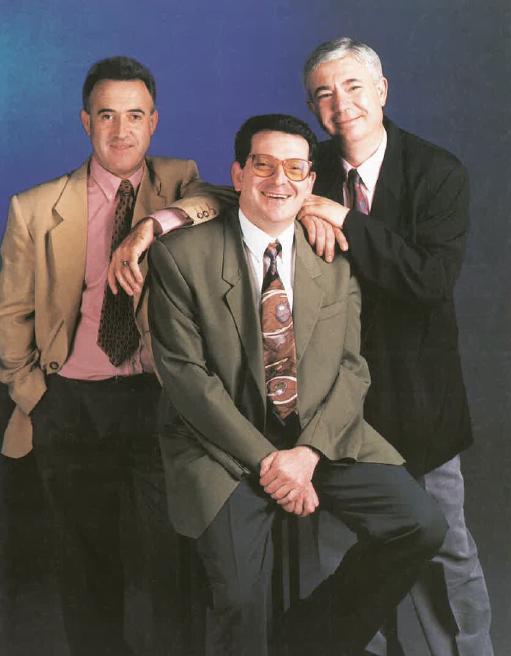 Srs. Gregorio Conde, Jordi Tomàs i Paco Puerto