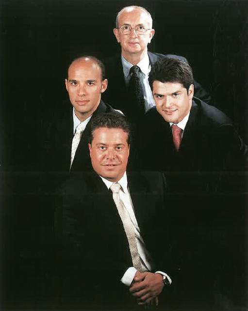 Srs. Francesc Marimon, Enric Guillén, Pabo Diego i Joan Cabezas