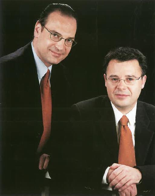 Srs. Josep Grau i Xavier Ritort