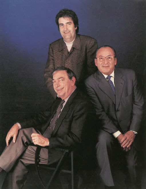 Srs. Jordi Llovera, Josep Bullich i Francisco Benavent