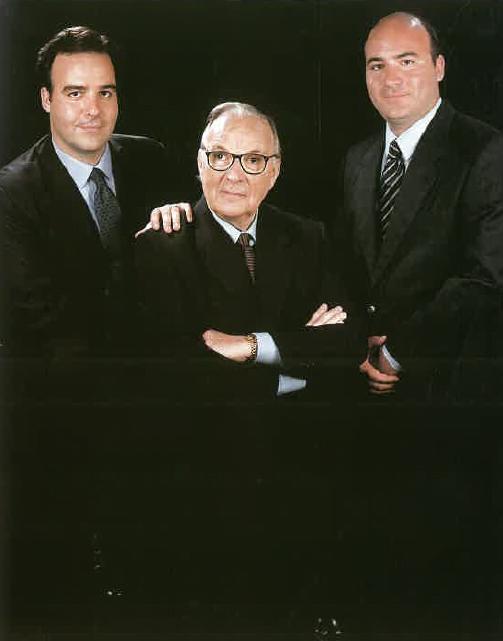Srs. Benet Oliver-Rodés Clapés, Jordi i Albert Oliver-Rodés Sen
