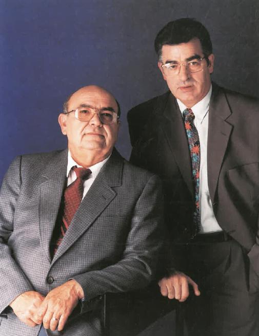 Srs. Josep Maria Casanova i Julio Agulló