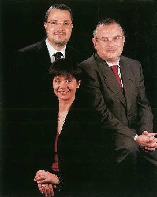 Srs. Llorenç Hernández, Neus Sala i Carlos Torres